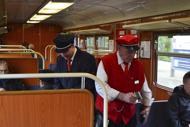 U-Bahnschaffner_Verkehrshistorischer Tag Hamburg